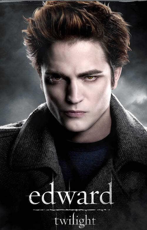 Photo of Robert Pattinson in Twilight.