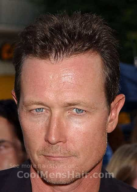 Picture of Robert Patrick spiky hairstyle.