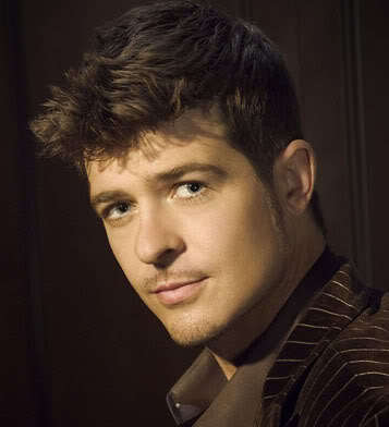 Robin Thicke hairstyles