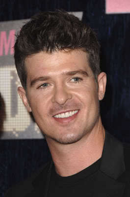 Robin Thicke short hairstyles