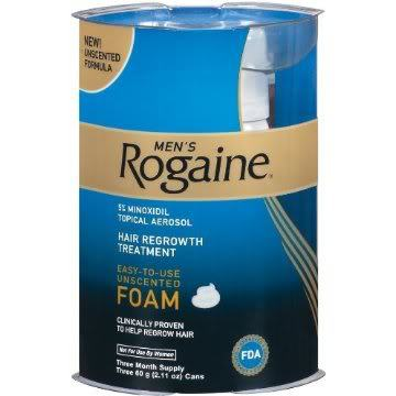 Image of Rogaine for men.