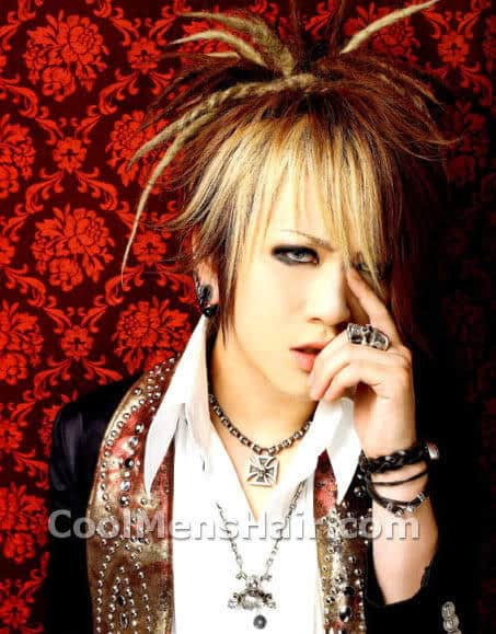 Photo of Ruki hairstyle.