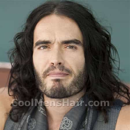 Image of Russell Brand hairstyle.