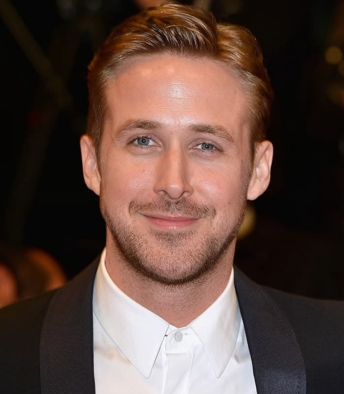 Ryan Gosling's comb over hair