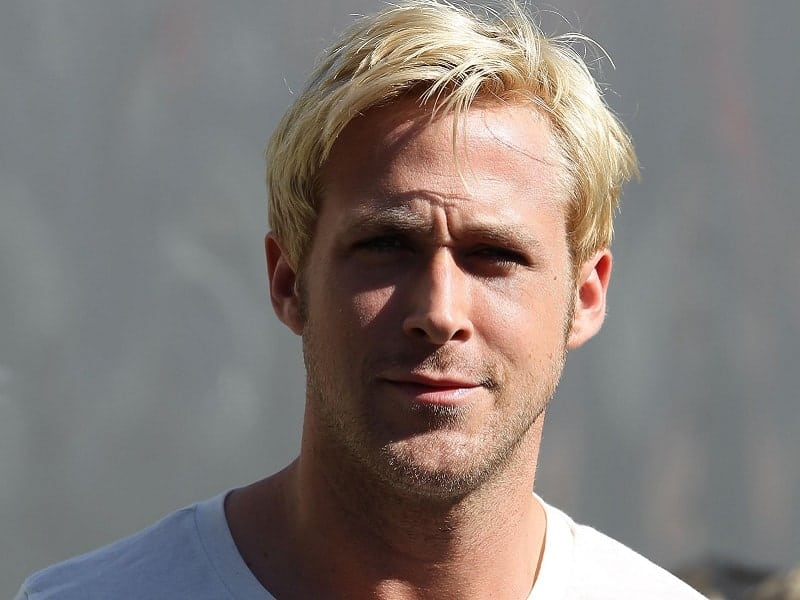 Ryan Gosling's blonde hairstyles