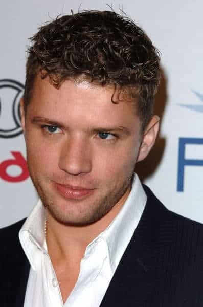 Ryan Phillippe short curly hairstyle