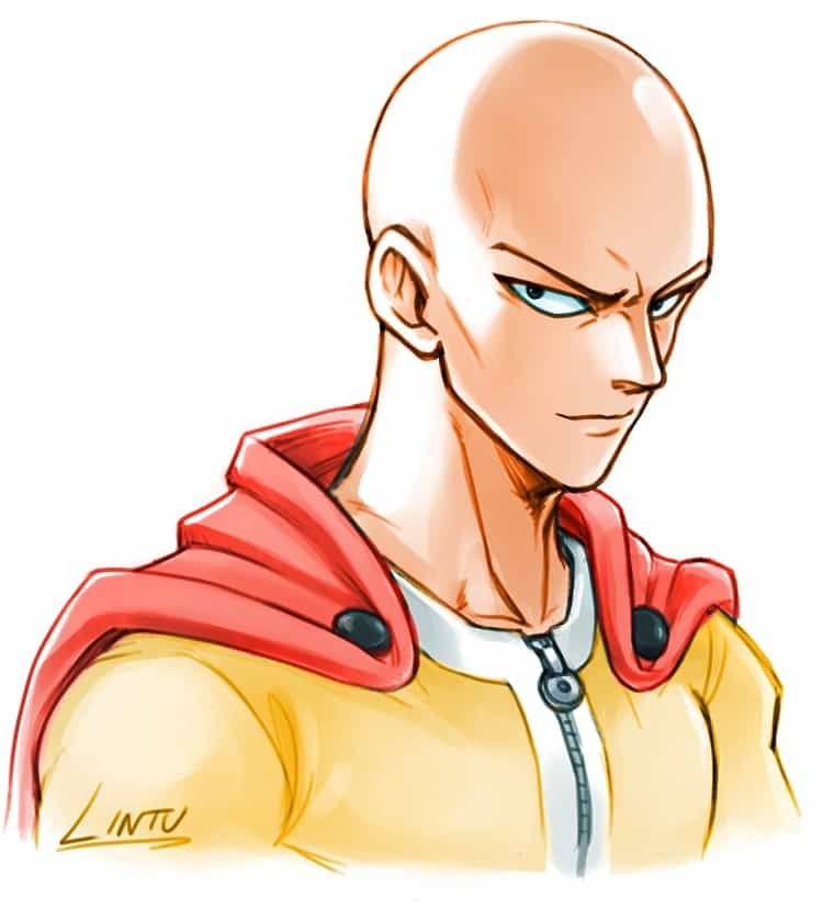 6 Anime Characters Who Can Challenge Saitama : Coolest anime hairstyles for boys men cool s hair