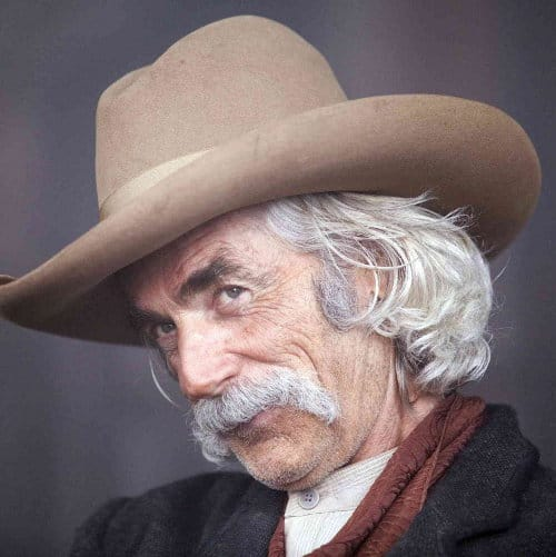 Photo of Sam Elliott hairstyle