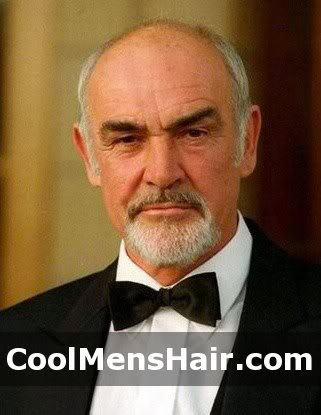 Picture of Sean Connery bald hairstyle.