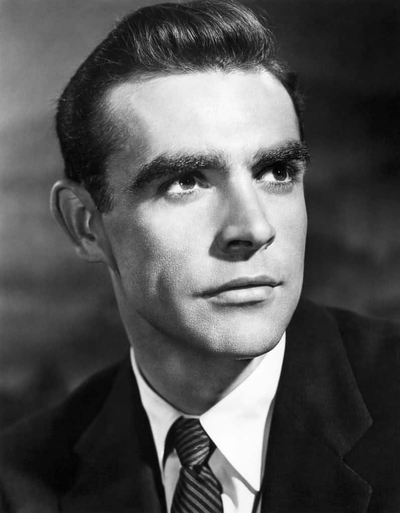 Sean Connery Classic Hairstyle. Photo © Courtesy Everett Collection