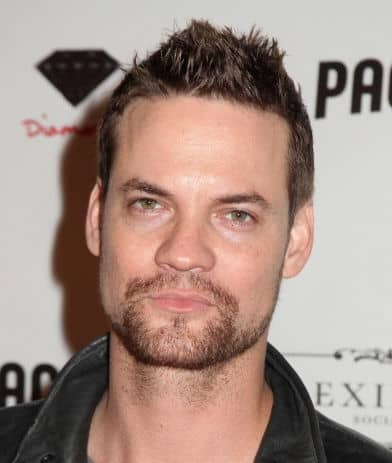 Photo of Shane West spiky hairstyle.