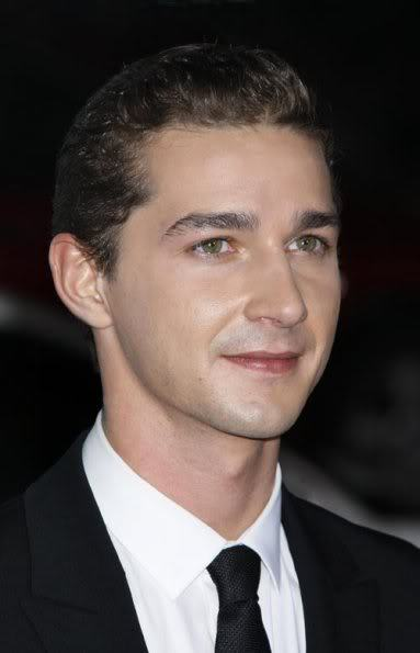 Cool men's hairstyle from Shia LaBeouf.