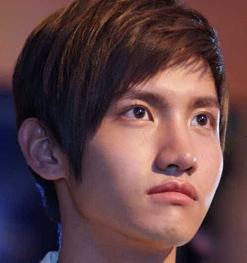 Photo of Shim Changmin hairstyle.