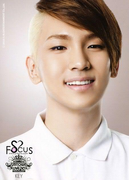 Image of Shinee Key hairstyle.