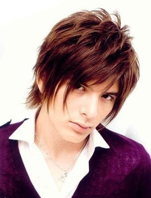 Japanese hairstyle from Shirota Yuu