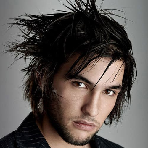 short emo haircut for men