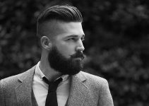 cool Sideburn hairstyle for men