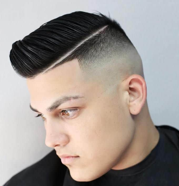 50 prevailing comb over fade haircuts for men 2019
