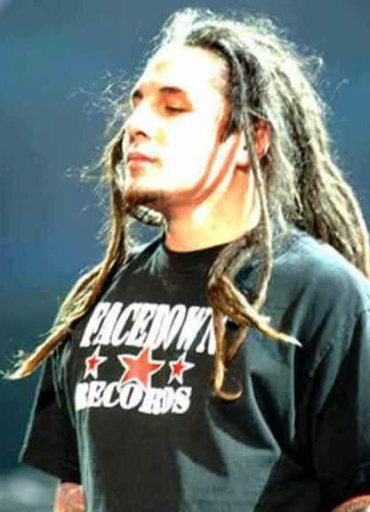 Sonny Sandoval dreadlocks hairstyles image.