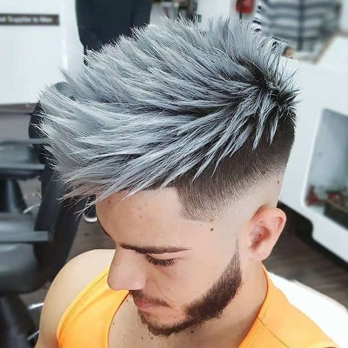 Spiky Hairstyle For Young Men