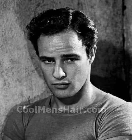 Picture of Stanley Kowalski hairstyle.