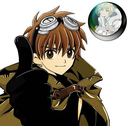 Syaoran hairstyle photo.