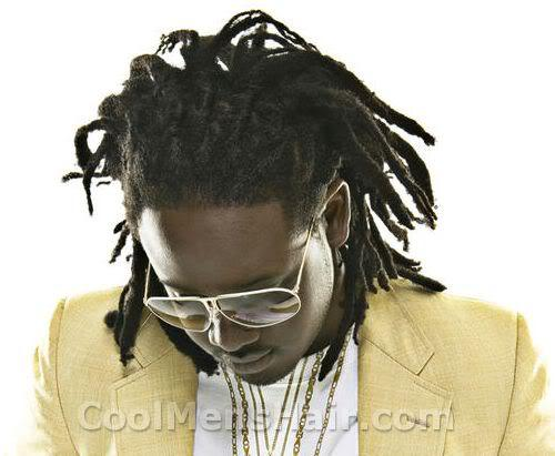 Picture of T-Pain Dreads hairstyle.