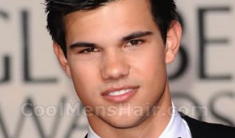 Taylor Lautner With Short Hair