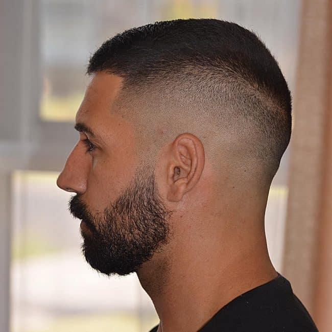 buzz cut hair style 33 best buzz cut styles with beard updated list 8158