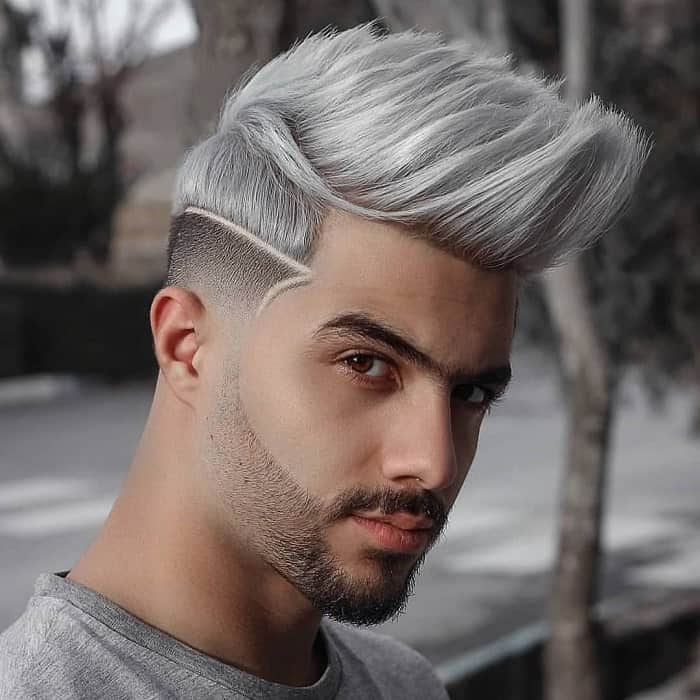 thick hairstyle for men with oval face