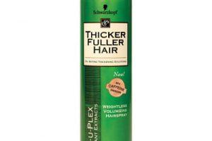 thicker fuller weightless hairspray