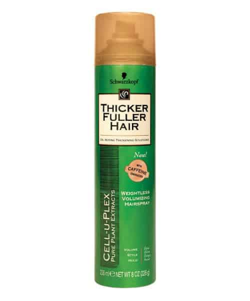 thicker fuller weightless hairspray