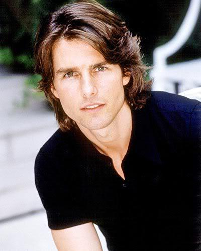 Tom Cruise hairstyle.