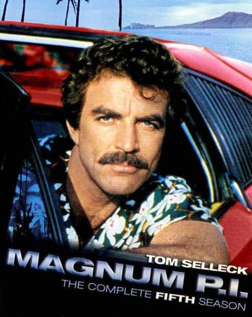 Photo of Tom Selleck in Magnum P.I.