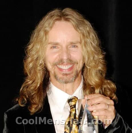 Photo of Tommy Shaw hairstyle.
