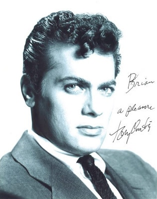 Picture Of Tony Curtis Hairstyle.