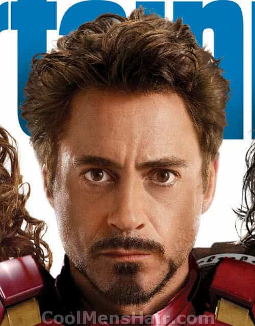 Picture of Tony Stark goatee for men.
