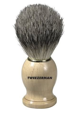 Image of Tweezerman Men's Shaving Brush.