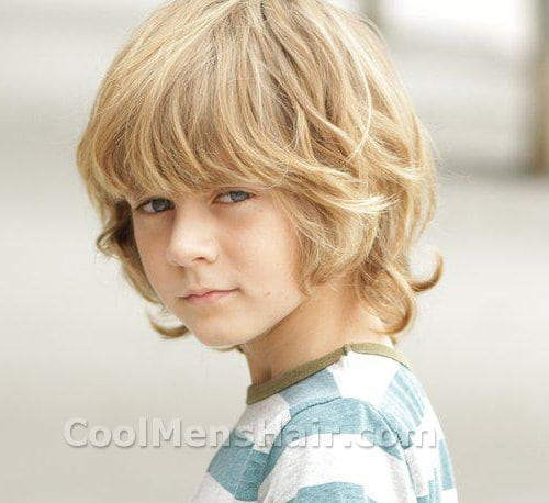 Ty Simpkins Blonde Shaggy Hairstyle Cool Men S Hair