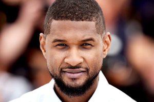 Usher Short Haircut
