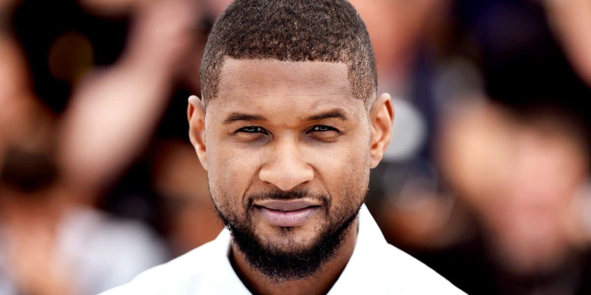 Usher Short Haircut