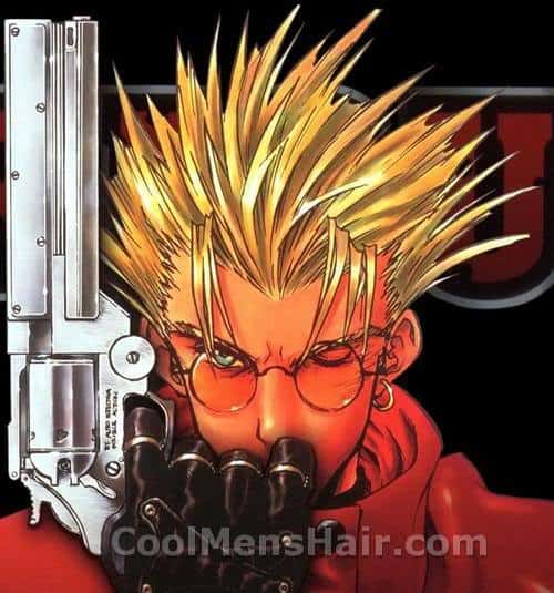 Vash The Stampede hairstyle picture.