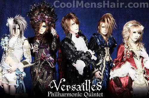 Picture of Versailles Philharmonic Quintet hairstyles.