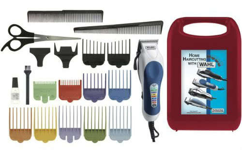 Image of Wahl 79300-400 Color Pro 20 Piece Complete Haircutting Kit.