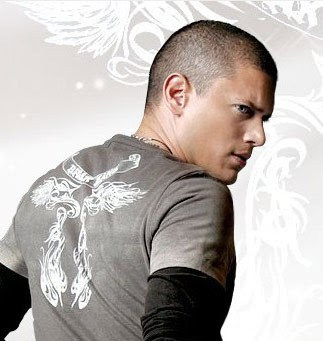Wentworth Miller buzz hairstyle for male.
