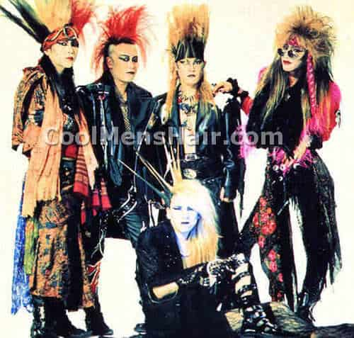 Picture of X Japan.