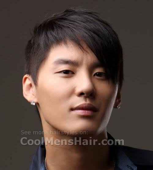 Xiah Jun Su short emo hair photo.