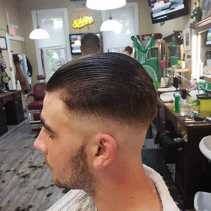 Young Men's Fine Hairstyle