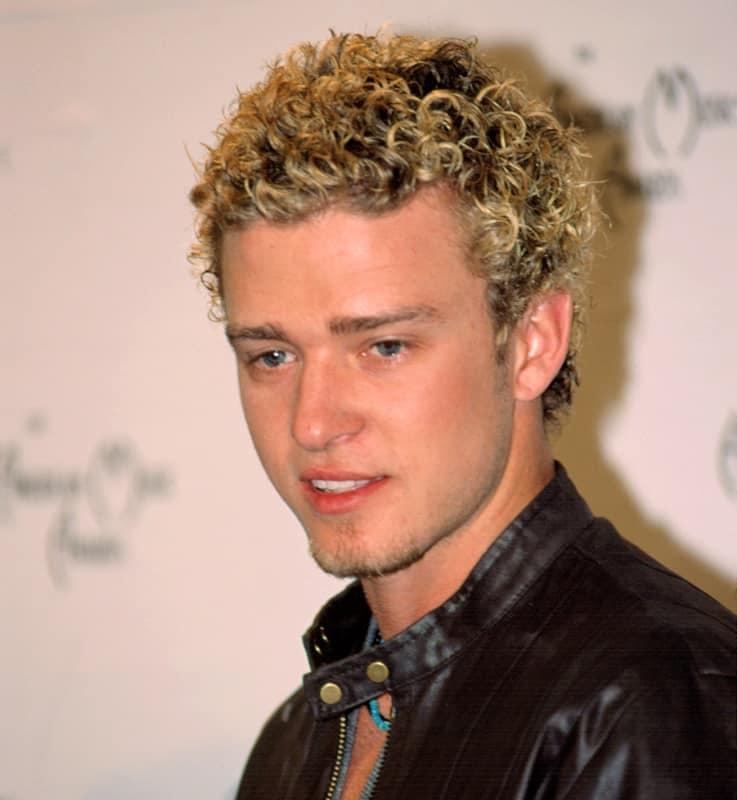 actor with curly hair - Justin Timberlake