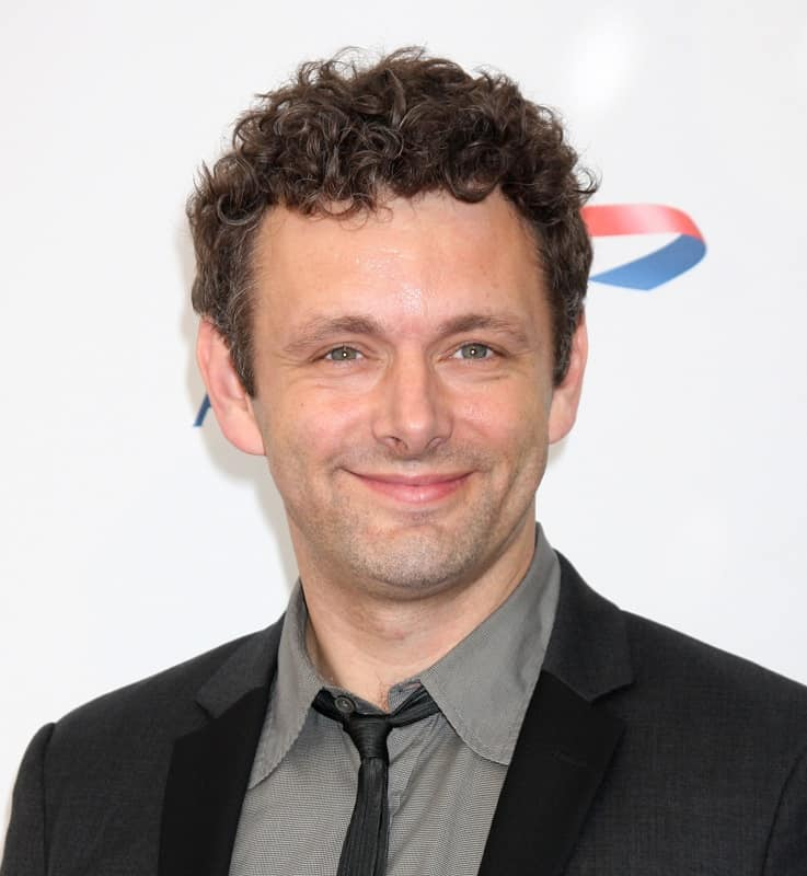 actor with curly hair - Michael Sheen